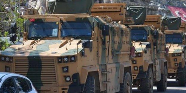 الجيش التركي يدفع بتعزيزات عسكرية إلى الحدود مع سوريا