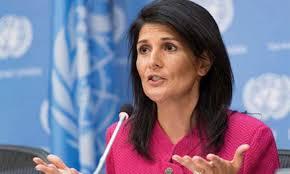 المندوبة الأمريكية لدى مجلس الأمن: مايجري في إدلب ليس مكافحة إرهاب بل استهداف لكل من لا يقبل بنظام الأسد.