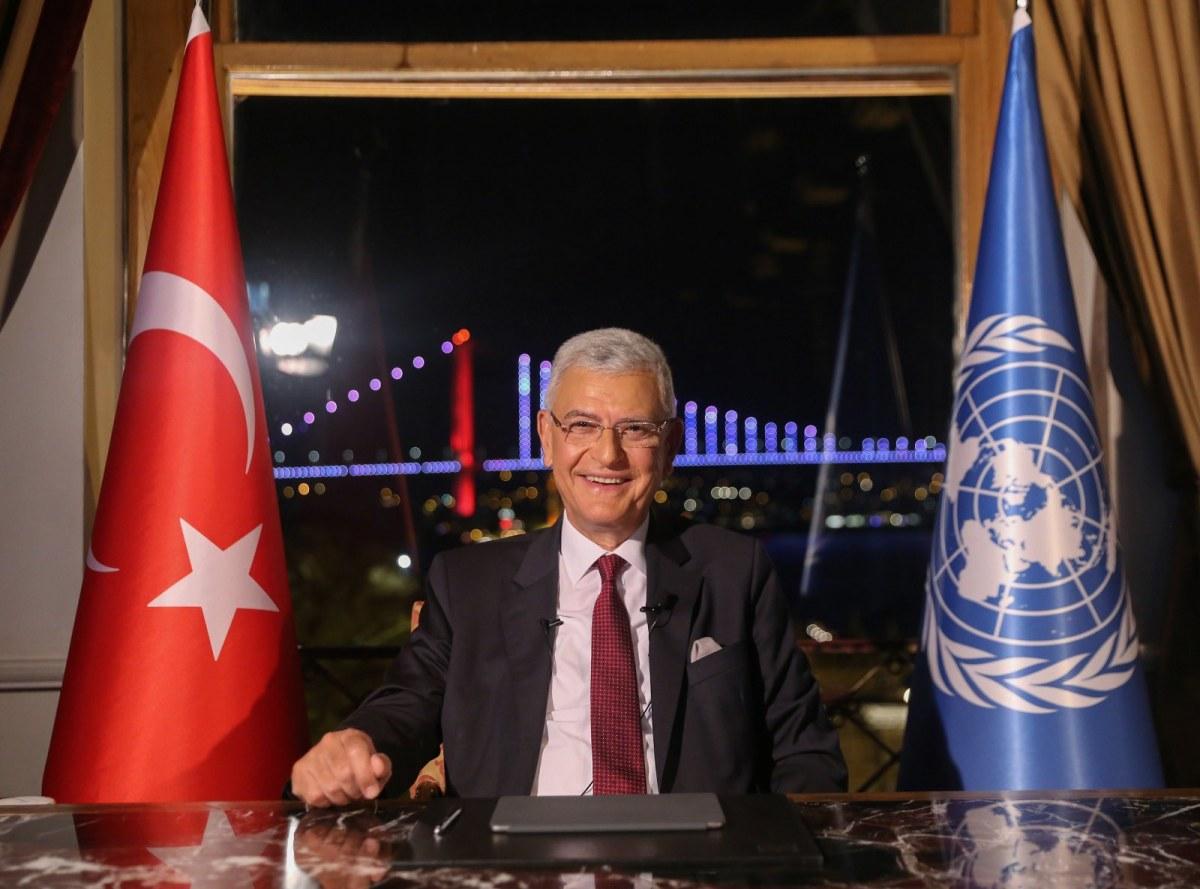 الأمم المتحدة تهنئ تركيا على استلامها رئاسة الجمعية العامة