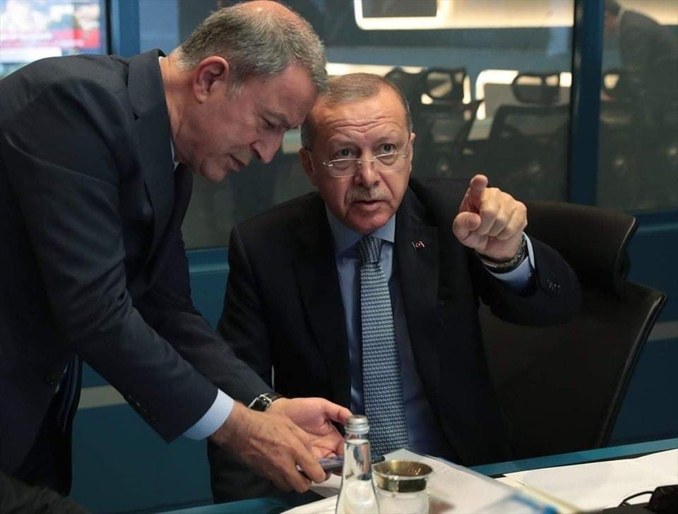 الرئيس التركي رجب طيب أردوغان يعلن إطلاق عملية نبع السلام