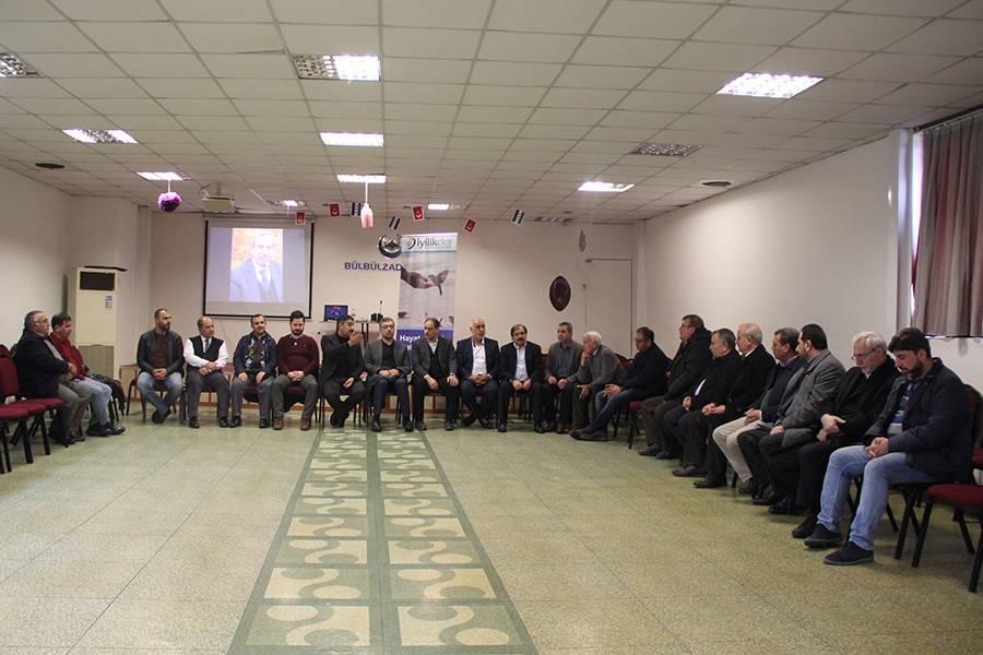 قامت إدارة وقف بلبل زادة بزيارة لتعزية أحمد قاسم
