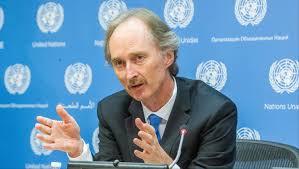 المبعوث الخاص للأمم المتحدة لسوريا غير بيدرسن يطالب بوقف العنف في سوريا