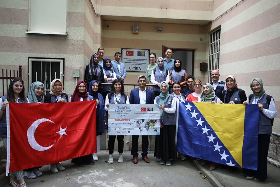 اتحاد طلاب الأناضول يشارك في رحلة جمعية تيكا إلى البوسنة والهرسك