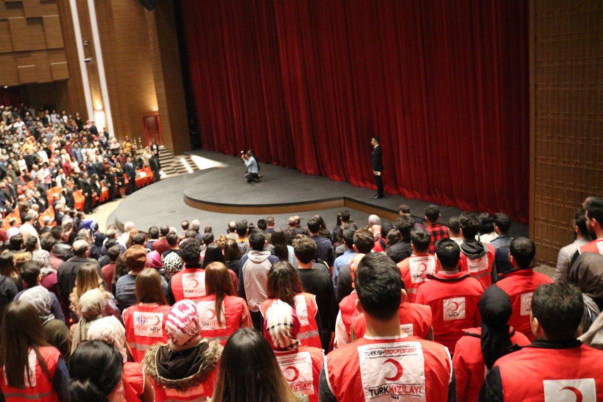 حفلات التذكار والتأبين لشهداء تشناك كلة التي نظمتها جامعة غازي عنتاب بتاريخ 18 آذار في ولاية غازي عنتاب