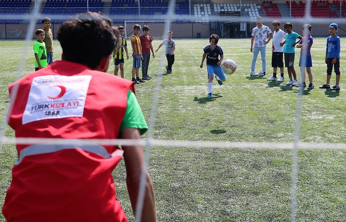 مركز الهلال الأحمر التركي المجتمعي في أنقرة