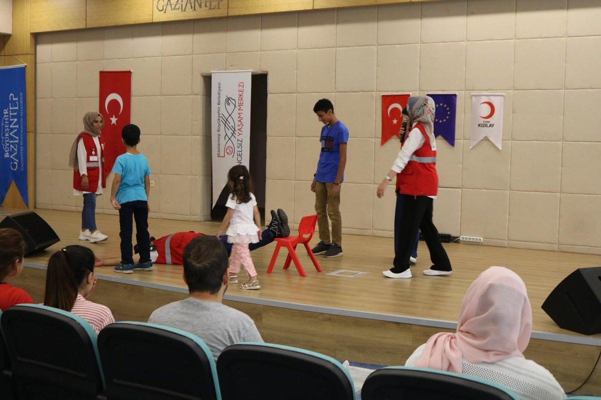 مركز الهلال الأحمر التركي المجتمعي في غازي عنتاب