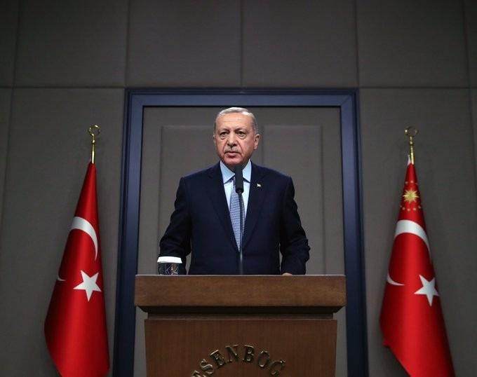 (الرئيس أردوغان: أفشلنا الألاعيب وأظهرنا الحقيقة للجميع بفضل (نبع السلام