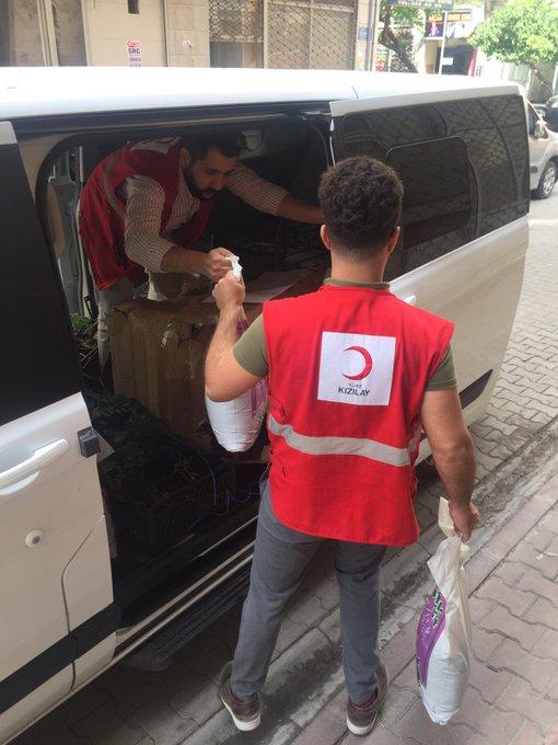 مركز الهلال الأحمر التركي المجتمعي في مرسين