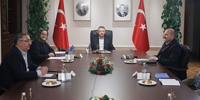 نائب أردوغان يترأس اجتماع تنسيقي لمكافحة كورونا