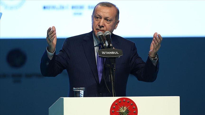 الرئيس أردوغان: بدأنا العمل على إسكان مليون شخص في مدينتي تل أبيض ورأس العين